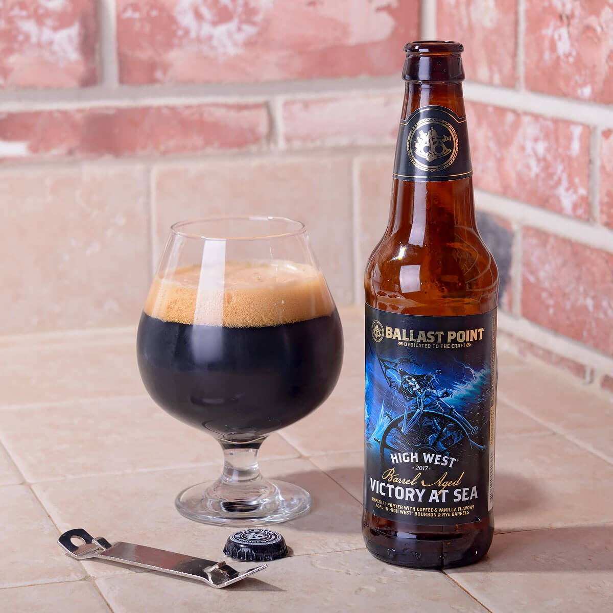 High West Barrel Aged Victory at Sea, an American Porter by Ballast Point Brewing Company