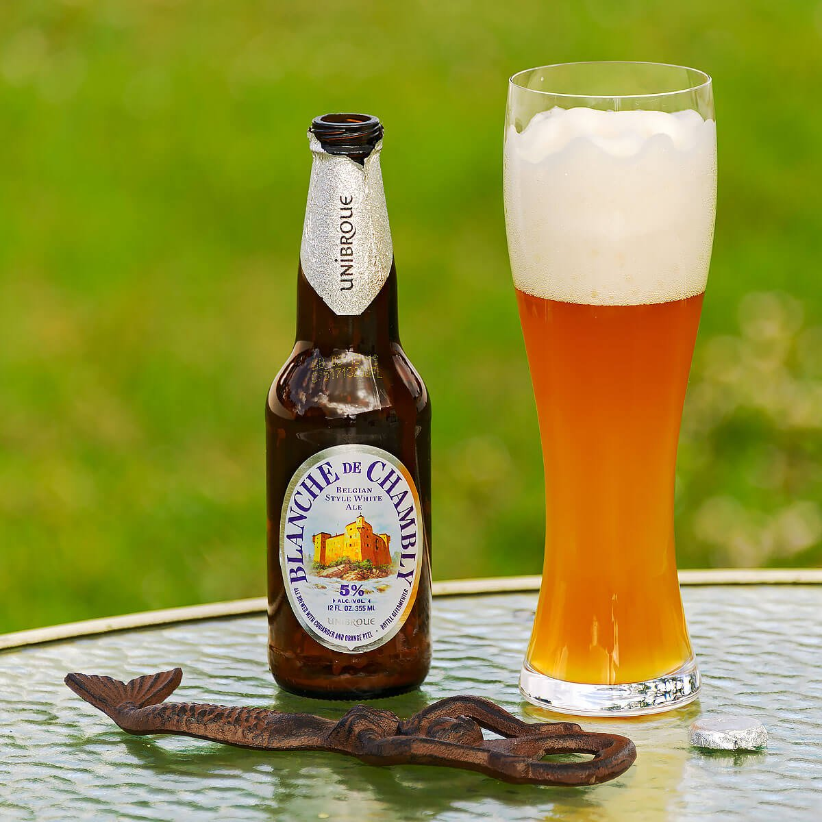 Blanche De Chambly, a Belgian-style Witbier by Unibroue