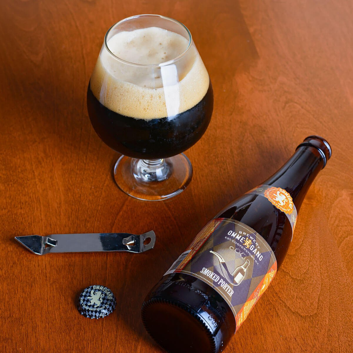 Smoked Porter, an American Porter by Brewery Ommegang