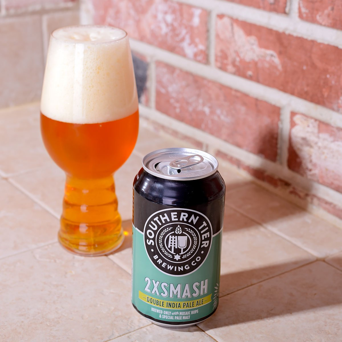 2XSMASH, an American Double IPA by Southern Tier Brewing Co.