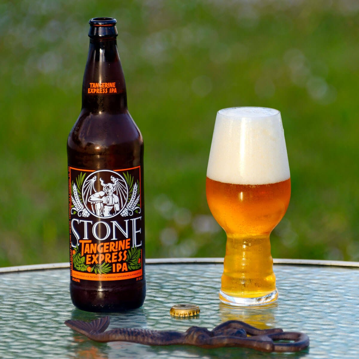 Stone Tangerine Express IPA, an American IPA by Stone Brewing