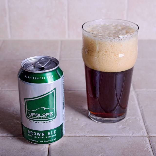 Upslope Brown Ale, an English-style Brown Ale by Upslope Brewing Company