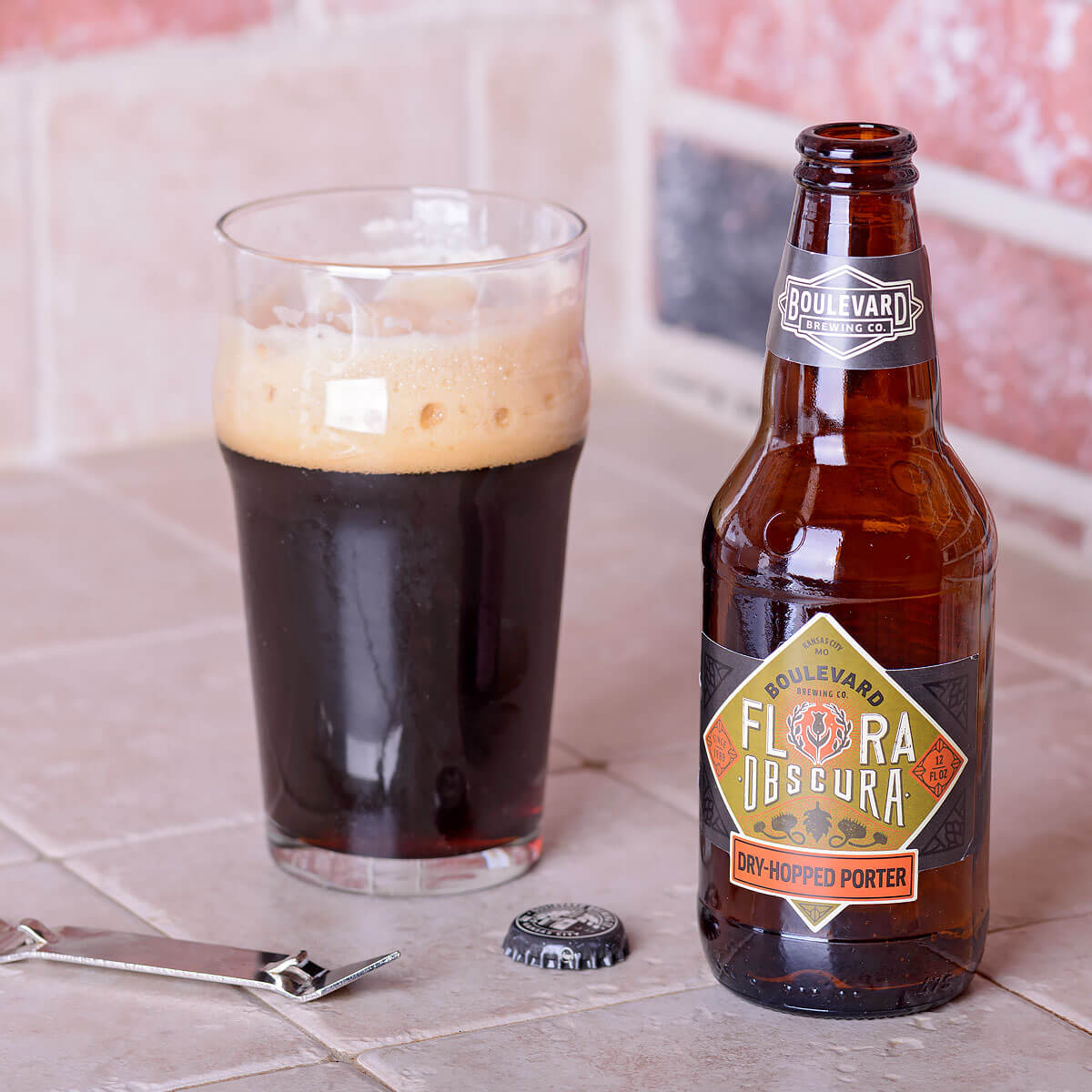 Flora Obscura, an American Porter by Boulevard Brewing Co.