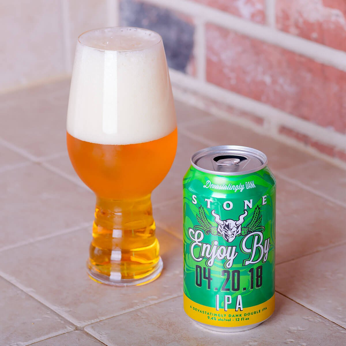 Stone Enjoy By 04.20.18 IPA, an American Double IPA by Stone Brewing