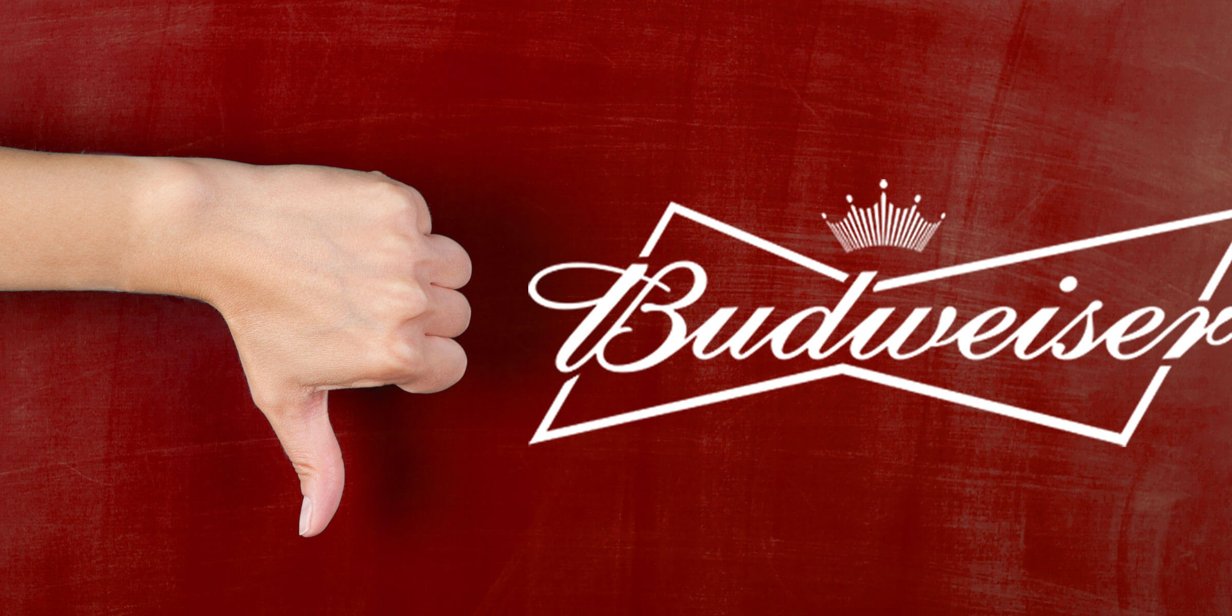 Anheuser-Busch InBev reported a decline in US sales for the first quarter of this year