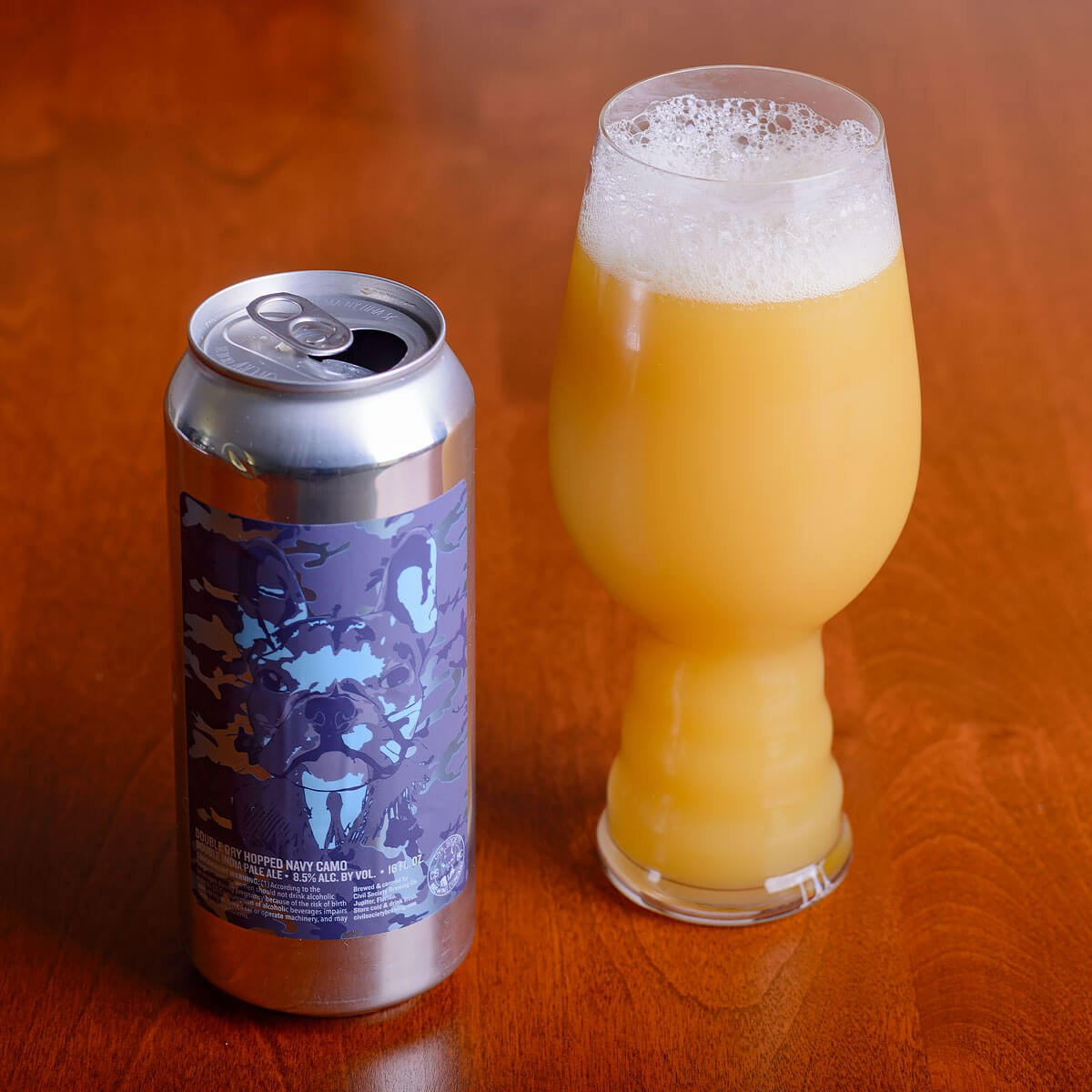 DDH Navy Camo, an American Double IPA by Civil Society Brewing Co.
