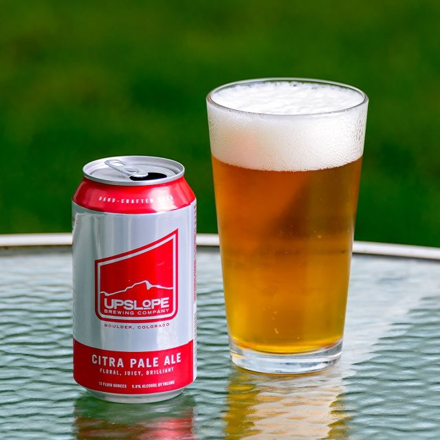 Upslope Citra Pale Ale, an American Pale Ale by Upslope Brewing Company
