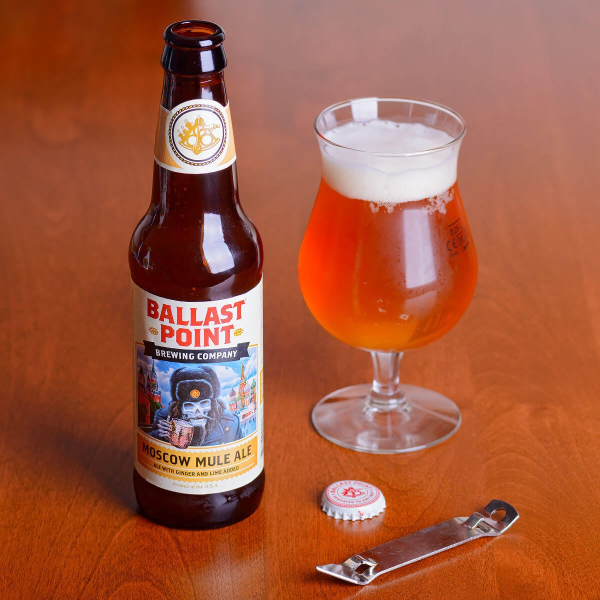 Moscow Mule, an American Wild Ale by Ballast Point Brewing Company