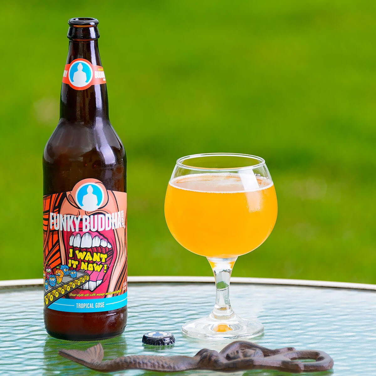 I Want It Now!, a German-style Gose by Funky Buddha Brewery