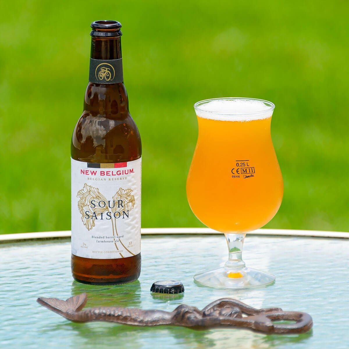 Sour Saison, a Belgian-style Saison by New Belgium Brewing Company