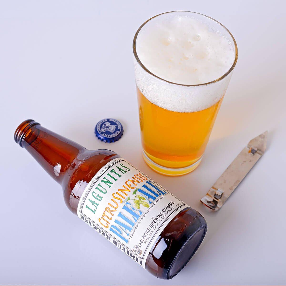 CitruSinensis, an American Pale Ale by Lagunitas Brewing Company