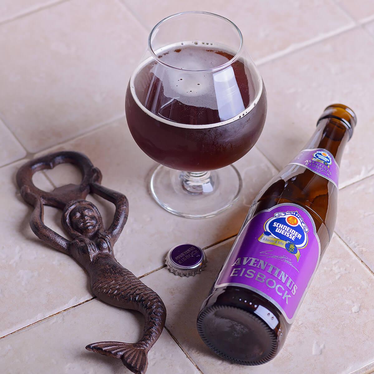 Schneider Weisse Aventinus Eisbock is an Eisbock brewed by Weisses Bräuhaus G. Schneider & Sohn GmbH