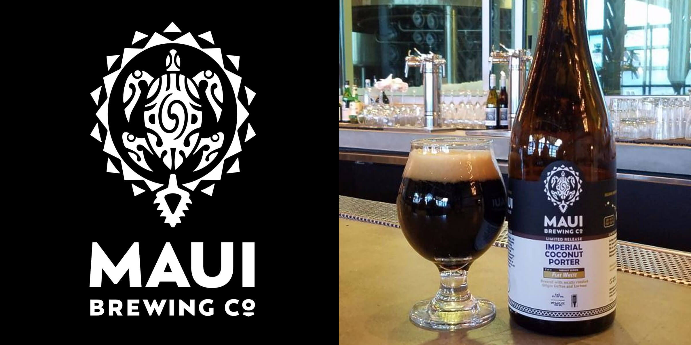 Maui Brewing Company Releases Flat White Imperial Coconut Porter
