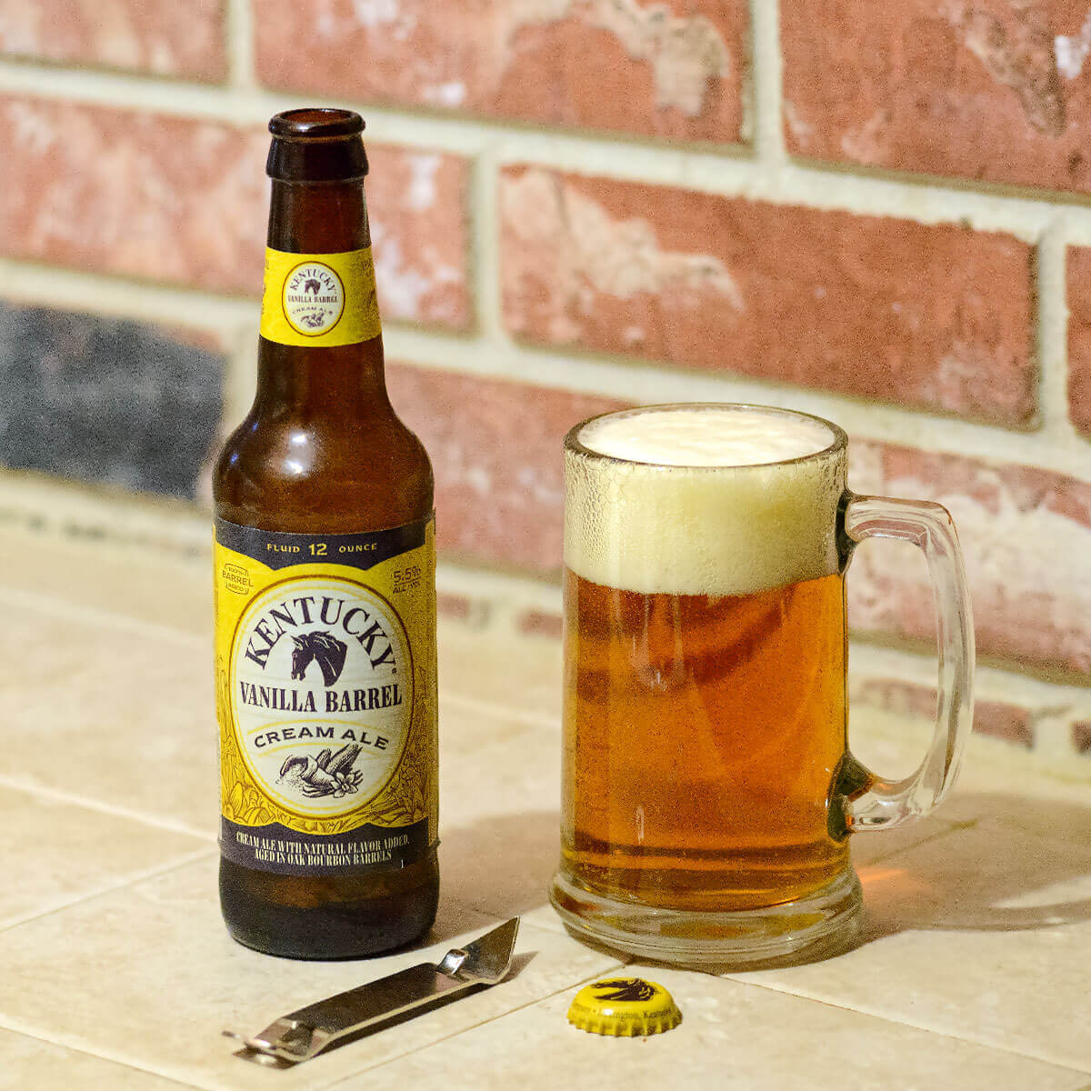 Kentucky Vanilla Barrel Cream Ale by Alltech Lexington Brewing And Distilling can satisfy a sweet tooth with sugary vanilla.