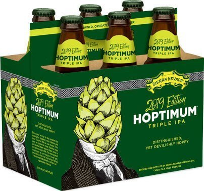 Packaging art for the Hoptimum by Sierra Nevada Brewing Co.