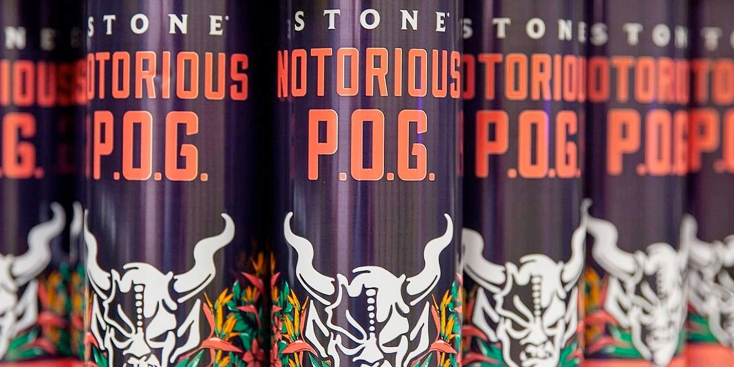 Stone Brewing has released fan favorite Stone Notorious P.O.G. Berliner Weisse. Brewed with passion fruit, orange and guava, it's available for a limited time.
