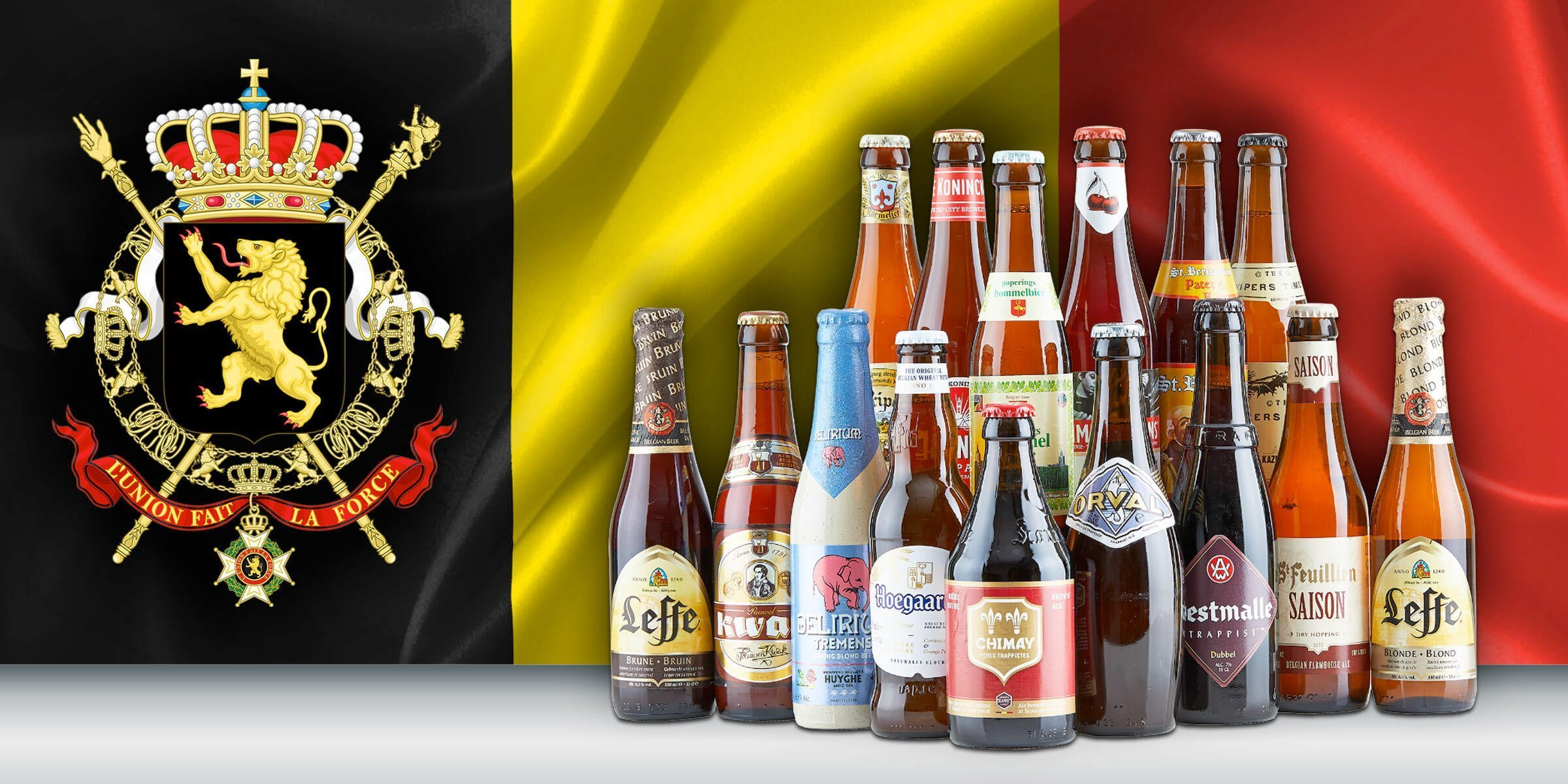 The wonderful Belgian brewing tradition includes a wide range of beer styles that are light and fruity, dark and malty, sour and funky. This article briefly examines their origin.