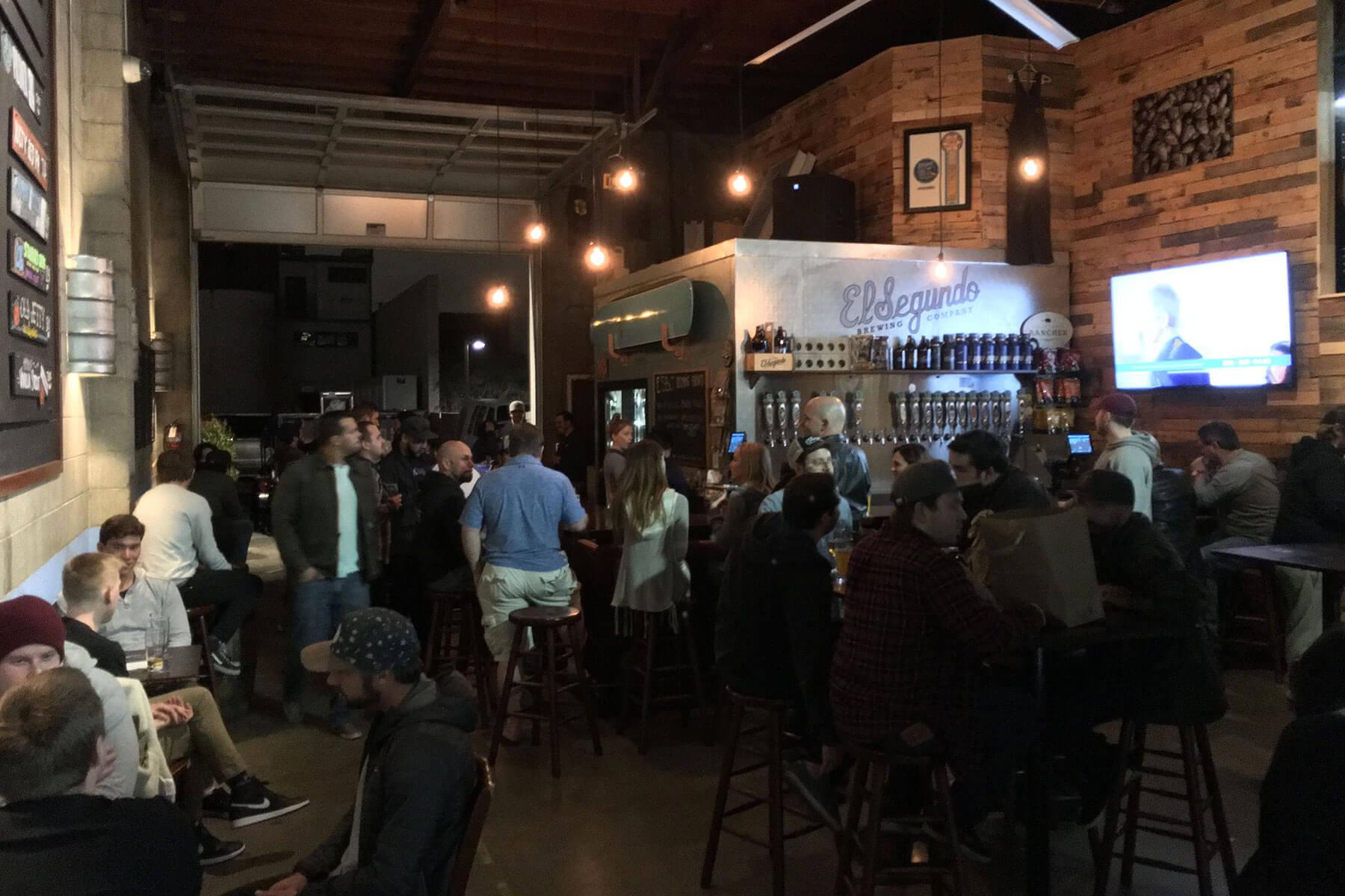 El Segundo Brewing Company Brewery Tasting Room