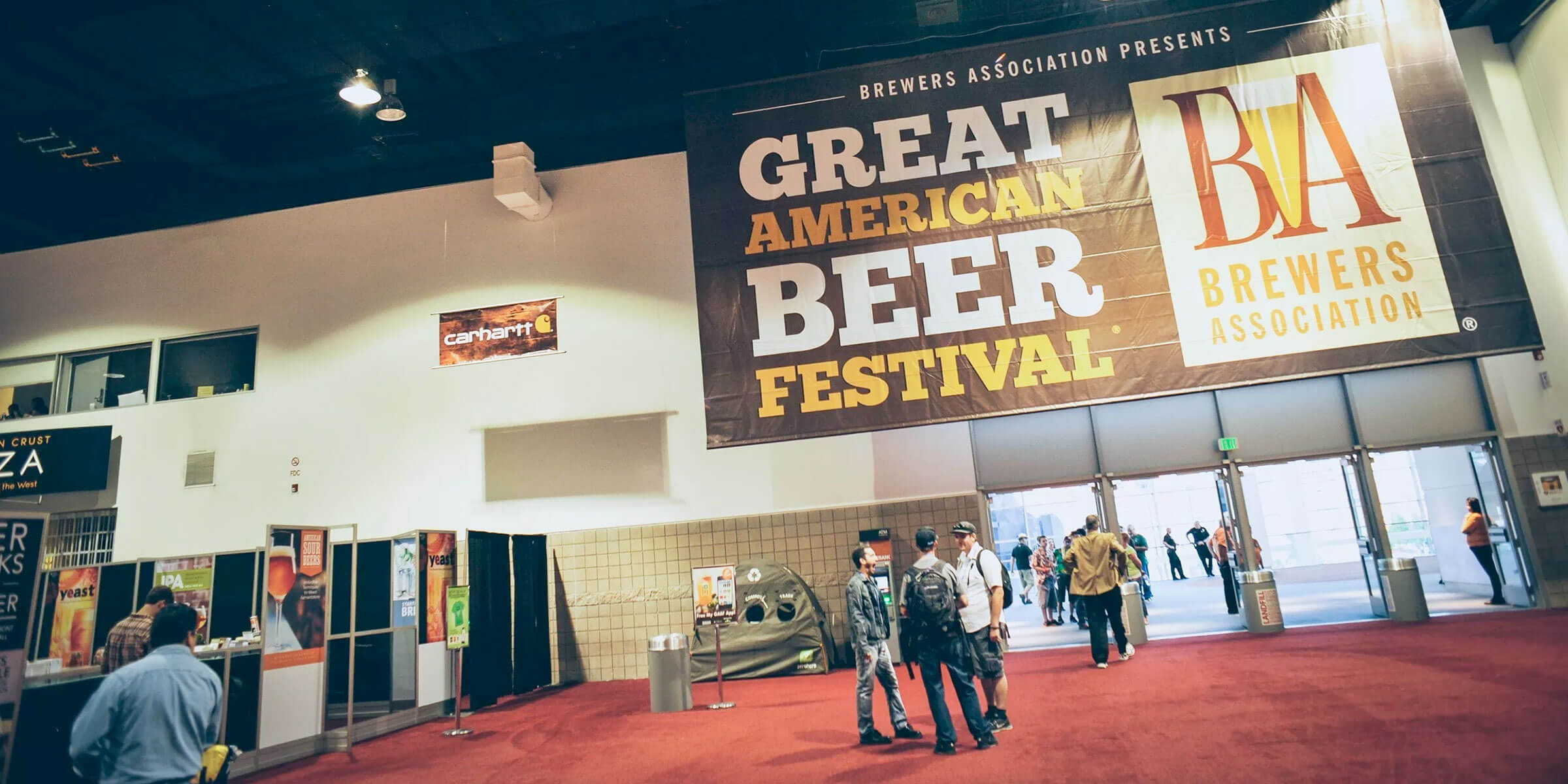 At the Entrance to the Great American Beer Festival