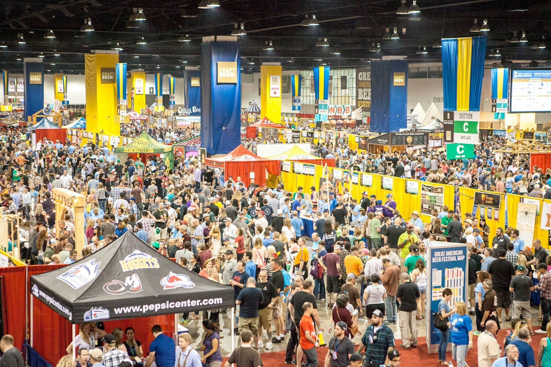 The Great American Beer Festival, which draws 60,000 attendees annually to the Colorado Convention Center will be replaced with an online immersive experience.