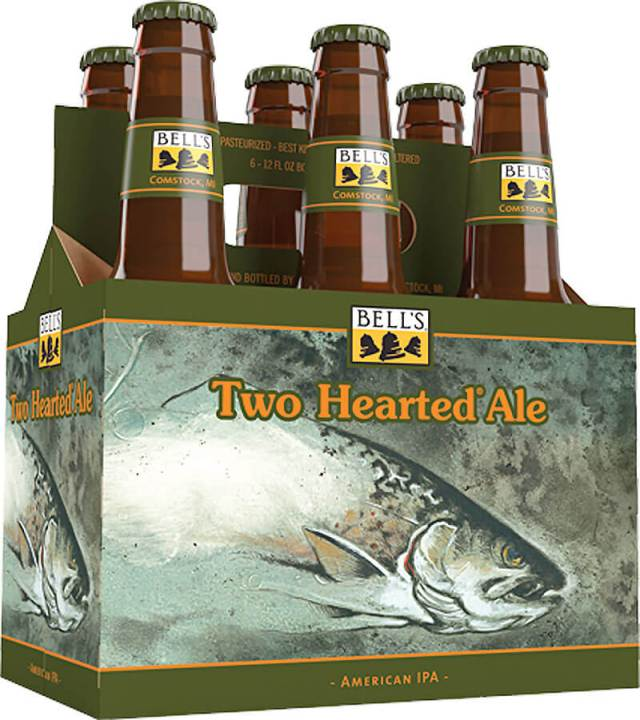 Packaging art for the Two Hearted Ale by Bell's Brewery, Inc.