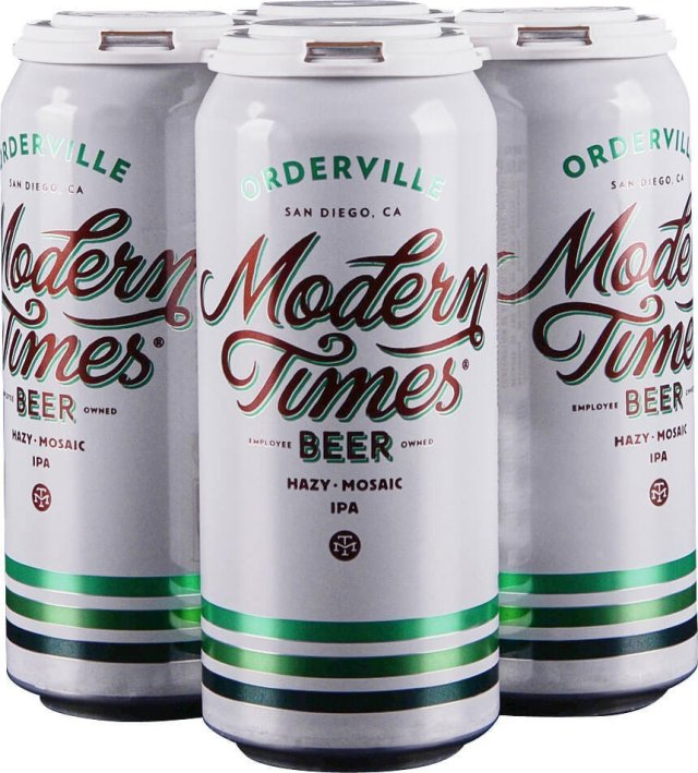 Packaging art for the Orderville by Modern Times Beer