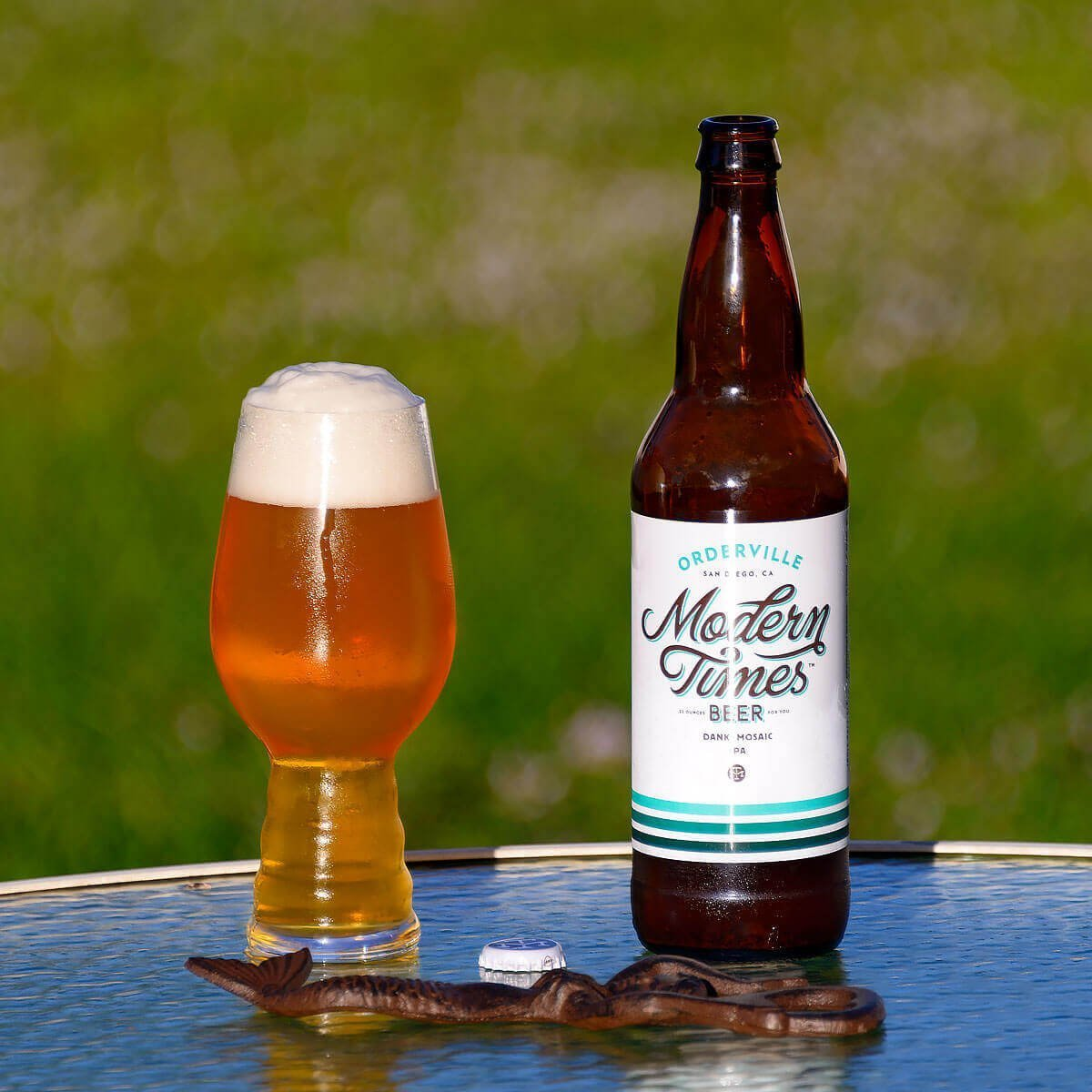 Orderville is an American IPA by Modern Times Beer that packs heaps of dank hops and tropical fruit flavor into a single IPA.