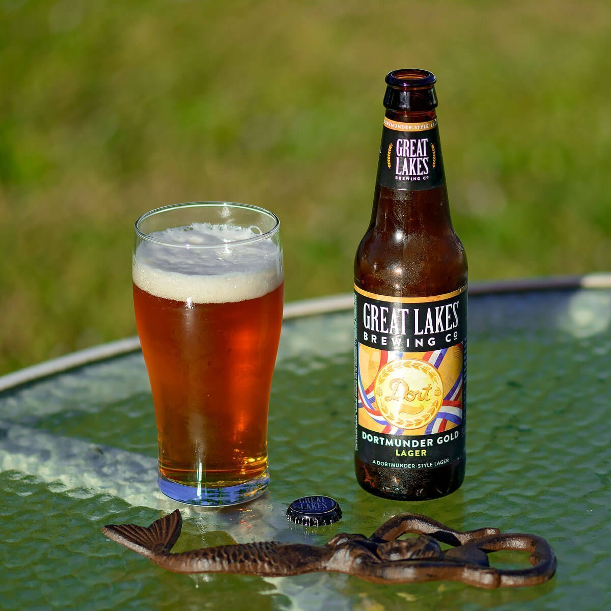 Dortmunder Gold Lager, a German-style Dortmunder Export Lager by Great Lakes Brewing Co. is light, clean, and oh so flavorful. Read the craft beer review.