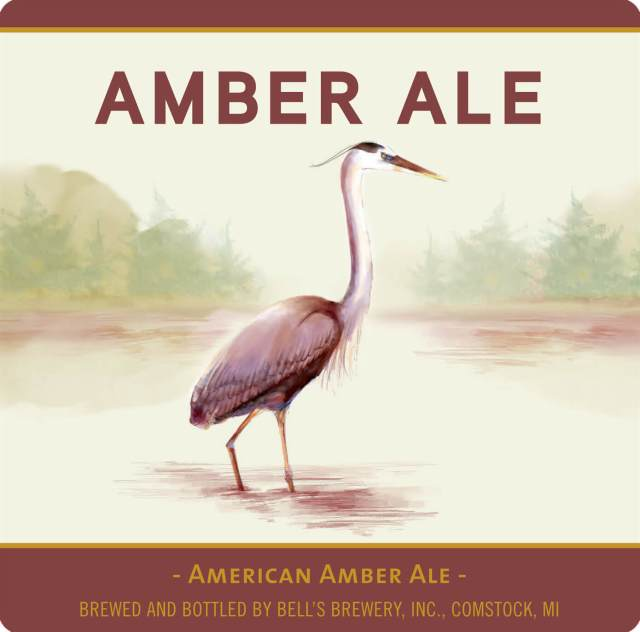 Label art for the Bell's Amber Ale by Bell's Brewery, Inc.