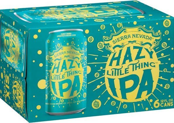 Packaging art for the Hazy Little Thing IPA by Sierra Nevada Brewing Co.