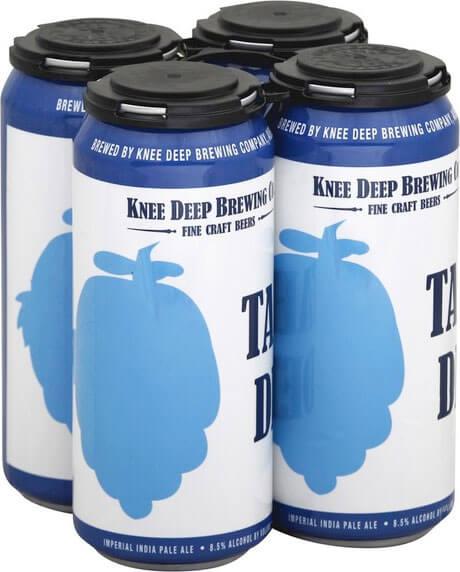 Packaging art for the Tahoe Deep by Knee Deep Brewing Co.