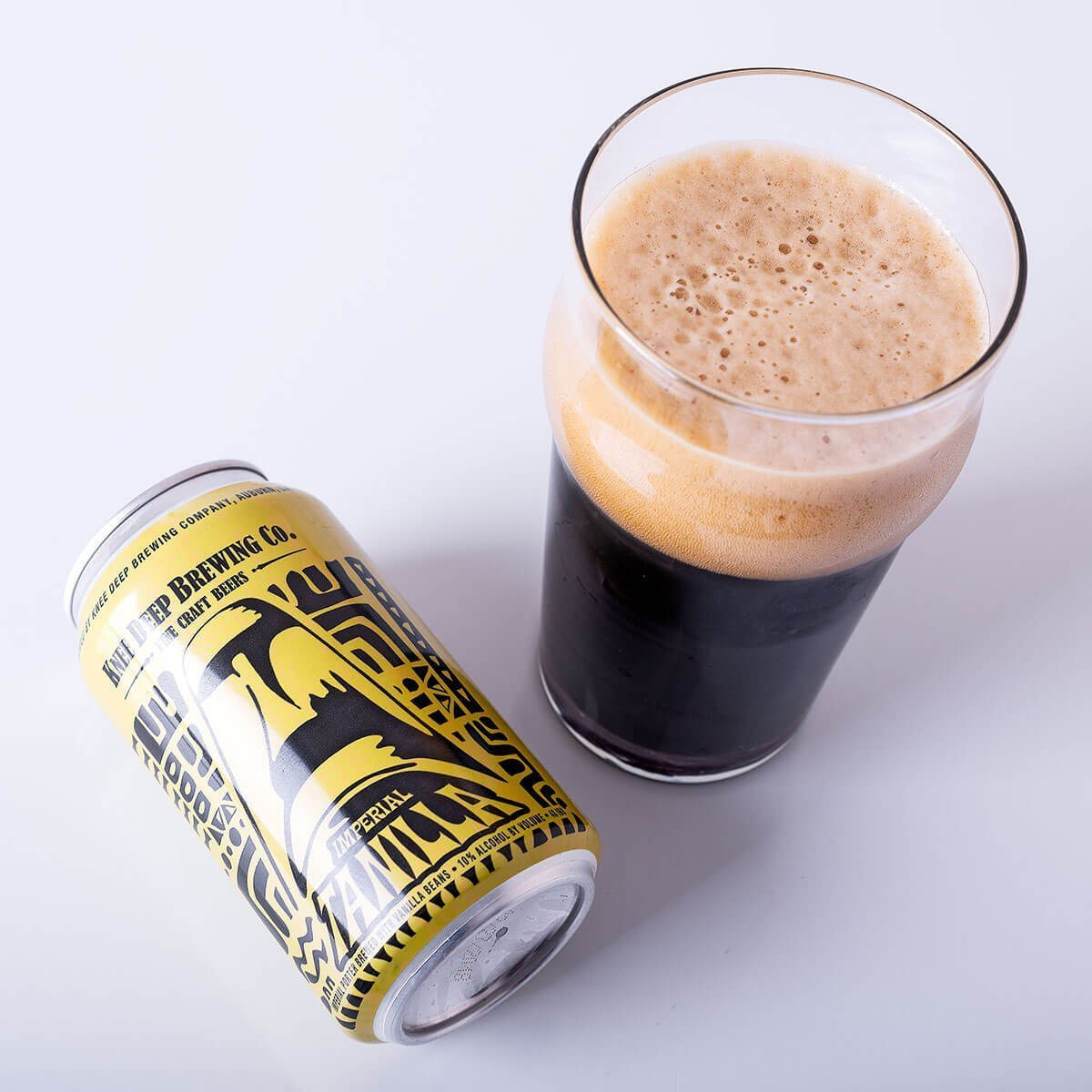 A 10% ABV version of Tanilla. Of course we added more hop bitterness to balance the chocolate, expresso and vanilla malt sweetness. Drink at your own risk. This is a big beer, but drinks way too easy.