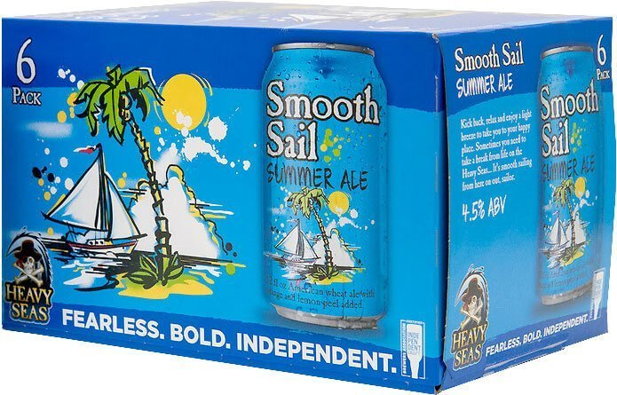Label art for the Smooth Sail Summer Ale by Heavy Seas Beer