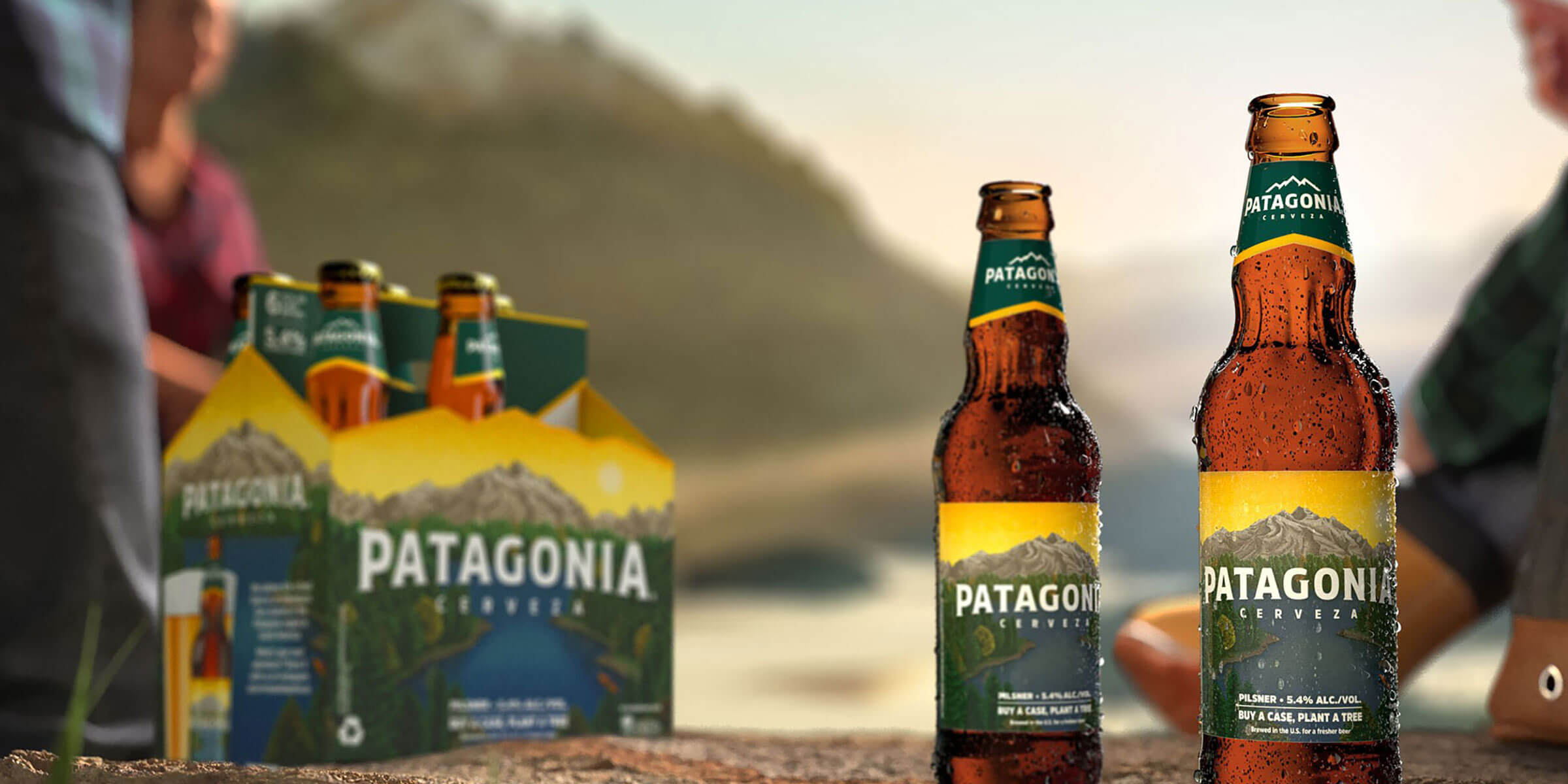 Cerveza Patagonia, a lager inspired by the mountainous region of Patagonia, is now available in 13 states and will benefit the National Forest Foundation.