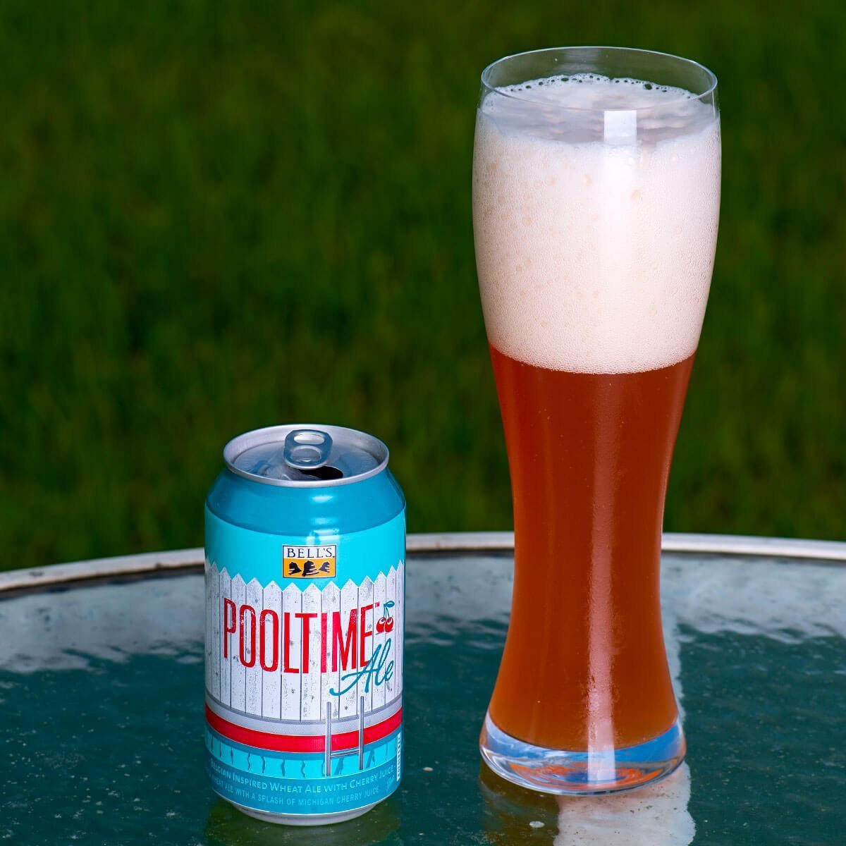 Pooltime Ale is a Belgian-style Witbier by Bell's Brewery, Inc. whose spicy notes are balanced by tart cherries for a refreshing brew.