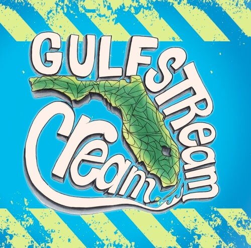 Label art for the Gulfstream Cream by LauderAle