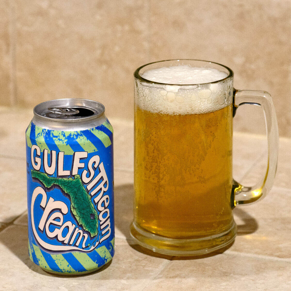 Gulfstream Cream, a Cream Ale brewed by LauderAle has an approachable flavor and is easy to drink. Light and refreshing, it makes for a delightful lawnmower beer.