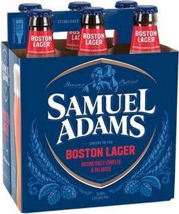 Packaging art for the Samuel Adams Boston Lager by Boston Beer Company