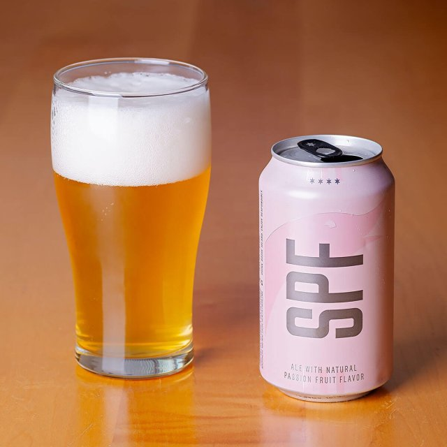 SPF is a Fruit Beer by Goose Island Beer Co. that blends tart tropical fruit with a mild dose of hops and a light bready malt.