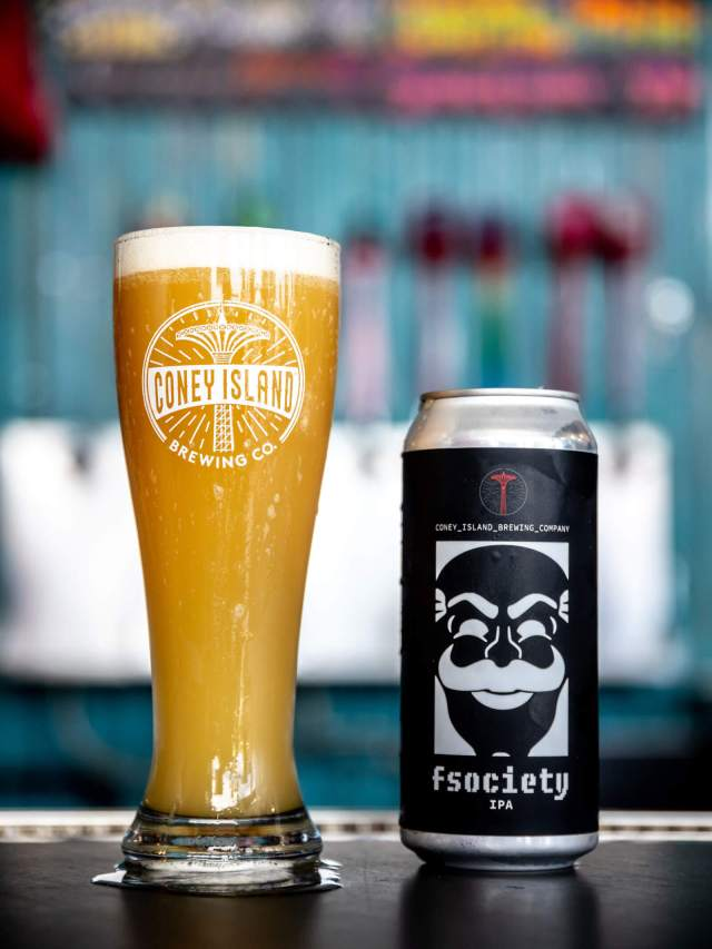 The fsociety IPA by Coney Island Brewery and USA Network will be available on October 6th.
