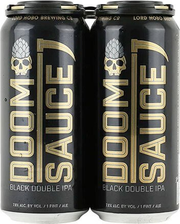 Packaging art for the Doomsauce by Lord Hobo Brewing Co.