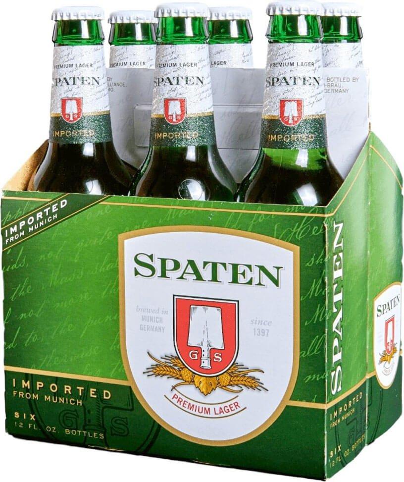 Packaging art for the Spaten Premium Lager (Münchner Hell) by Spaten-Franziskaner-Bräu