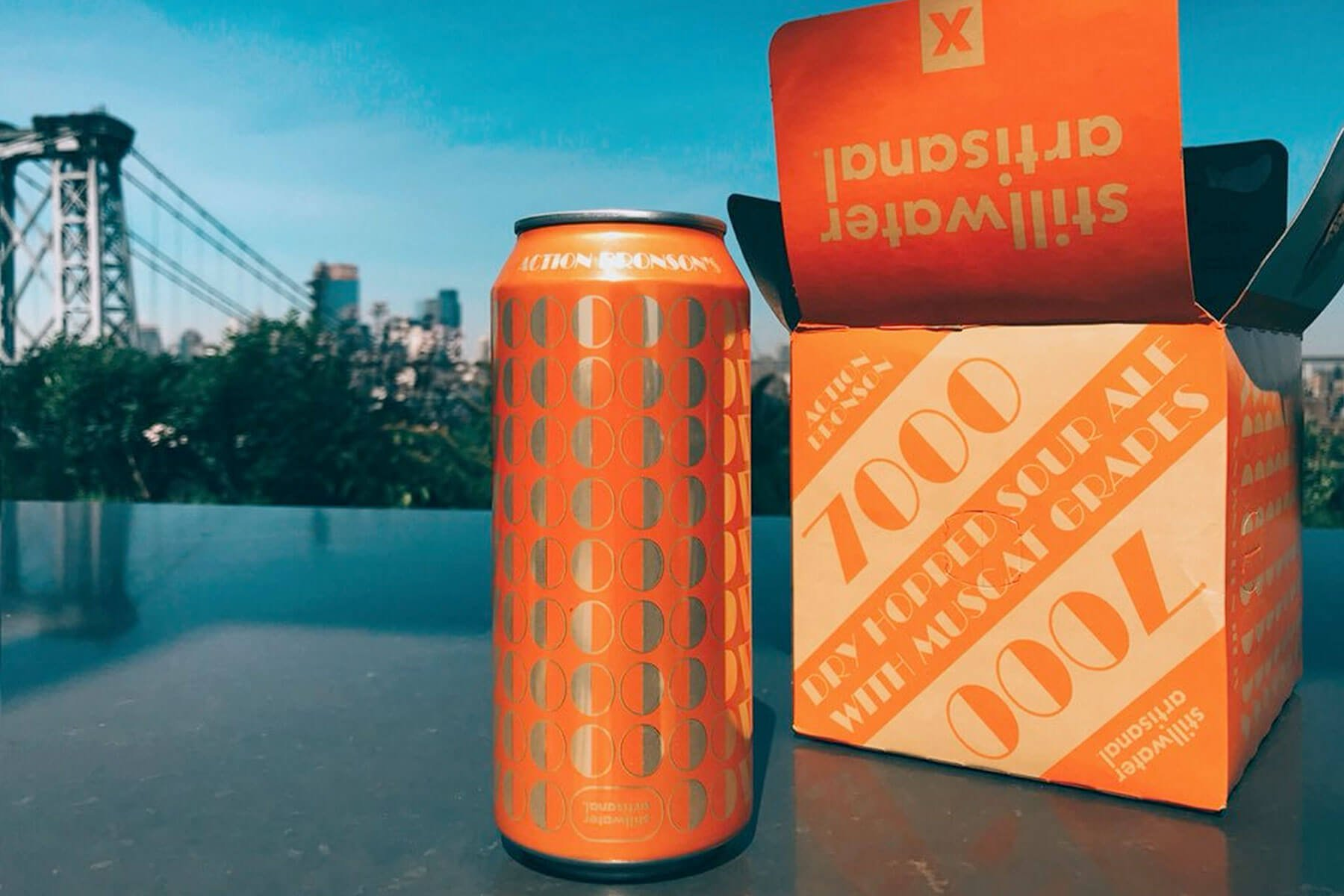 16 oz. can of 7000 and a Four Pack Box by Stillwater Artisanal Ales
