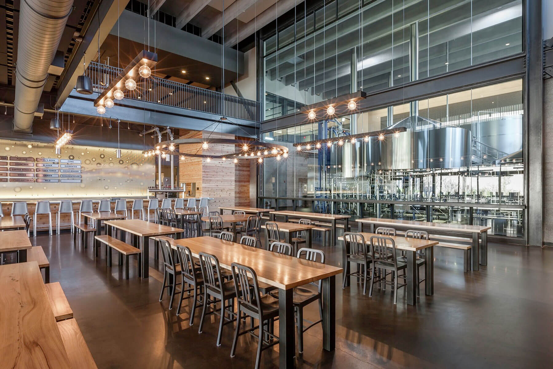 Inside the taproom of Surly Brewing Co. in Minneapolis, Minnesota