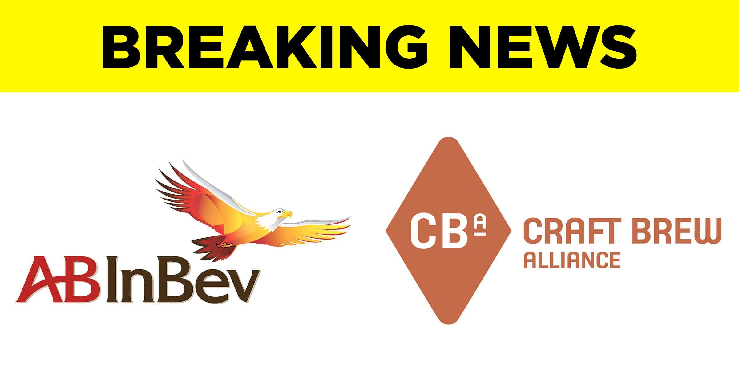 Anheuser-Busch InBev and Craft Brew Alliance announced today that the world's largest beer company will acquire the remaining 68.8% stake of CBA.
