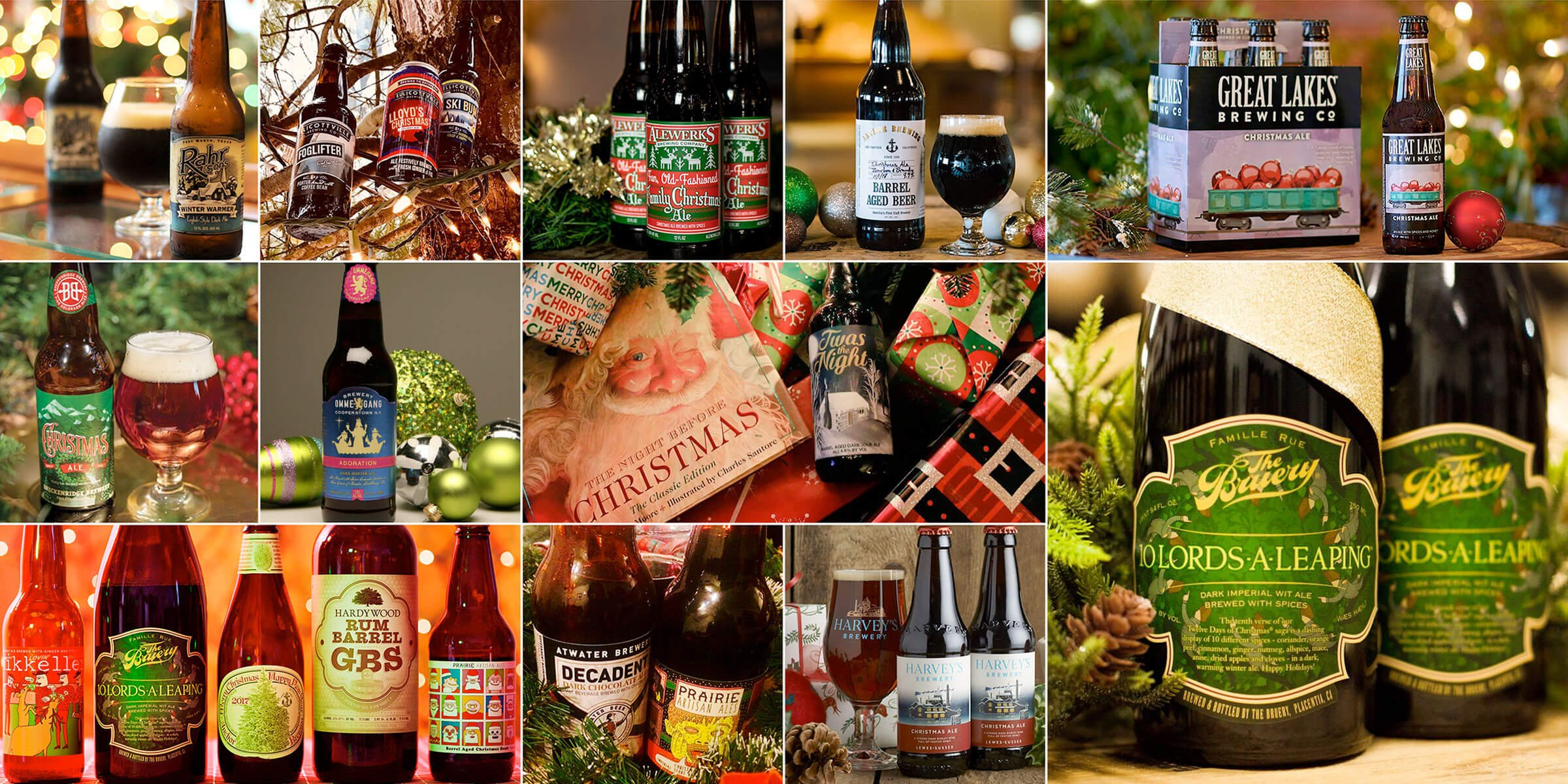 It's more than just marketing gimmick. From Vikings to modern science, there's a long legacy behind the myriad of beers and styles specially brewed for the winter Christmas season.