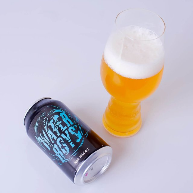 Waterboys is an American IPA by Champion Brewing Company that pops with floral, citrus, and resin hops; balanced by cracker and tropical fruit.