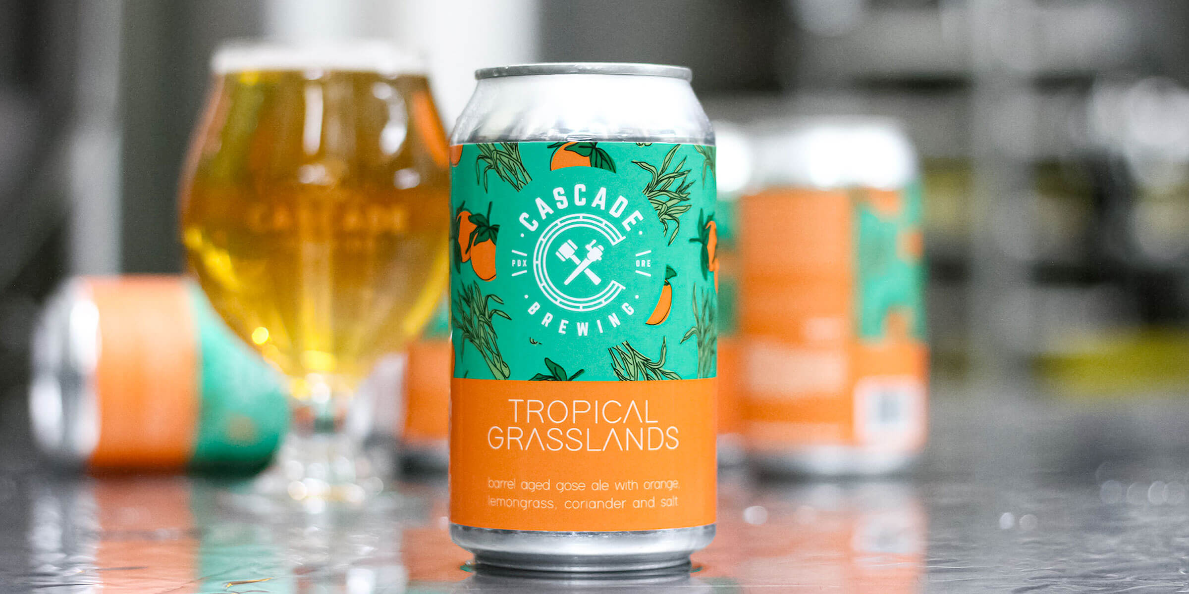 Cascade Brewing, a pioneer of the sour beer renaissance, is releasing Tropical Grasslands, its first sour beer in a can with limited distribution.