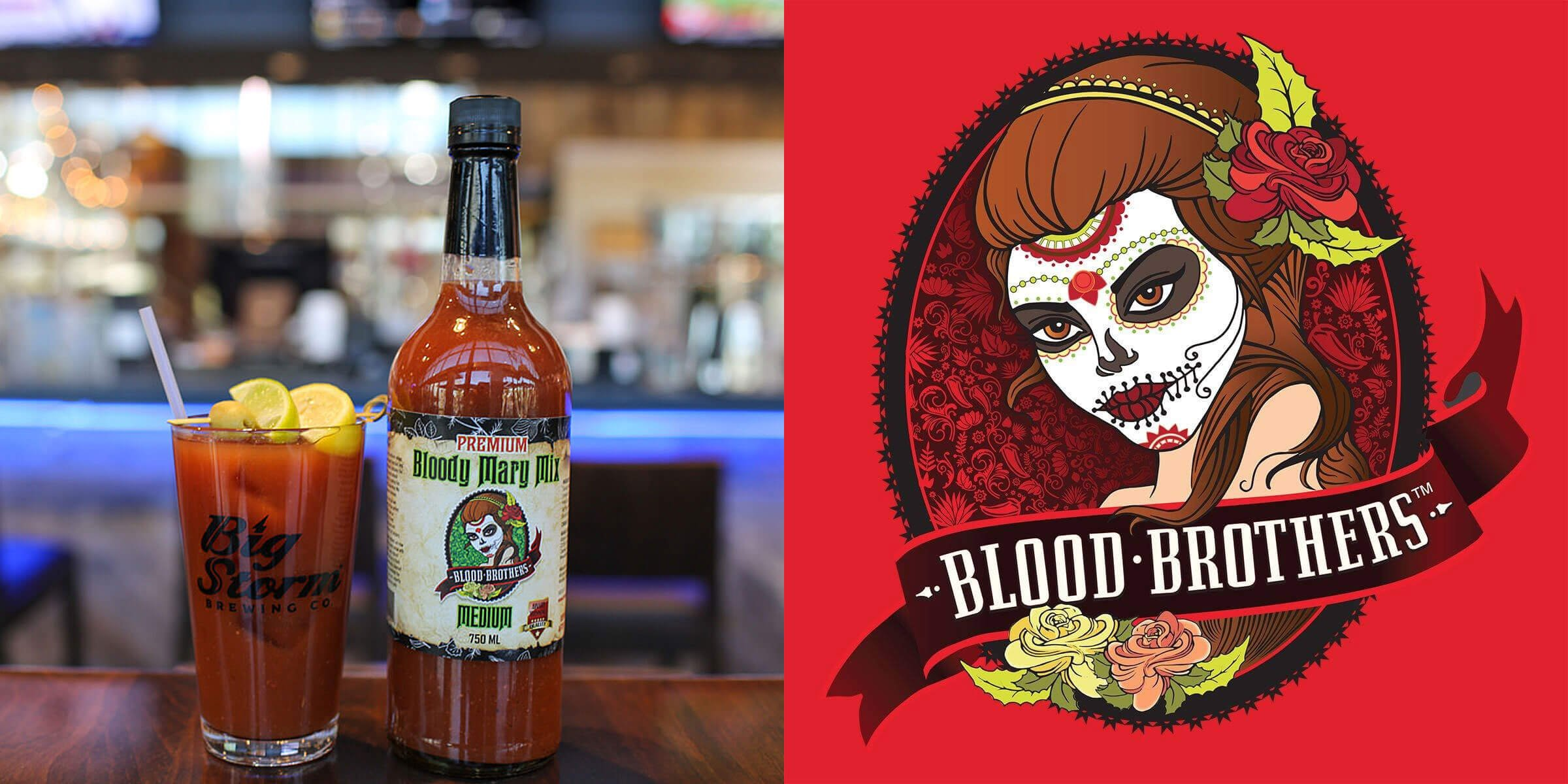 Clearwater, Florida-headquartered Big Storm Brewing Company has acquired a minority stake in Blood Brothers Bloody Mary Mix, also based in Clearwater.