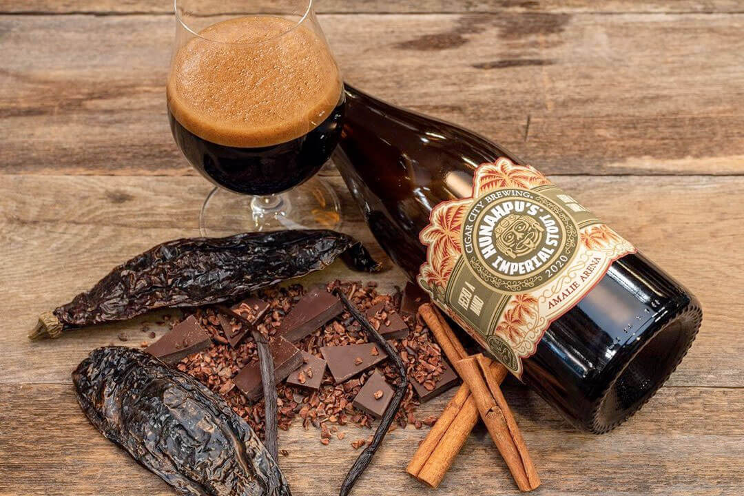 Cigar City Brewing is bringing back Hunahpu's Imperial Stout, to be released only at the 11th Annual Hunahpu's Day on March 13th at Amelie Arena in Tampa.